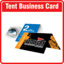 Save on copy and print ltd business cards magnetic for Tent business cards